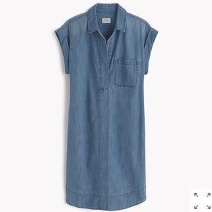 J. Crew Chambray Shirt Dress Size Medium
